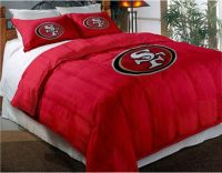 San Francisco 49ers NFL Twin Comforter Pillow Sham Set | eBay