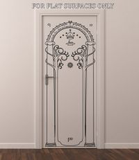 LORD OF THE RINGS GATES OF MORIA HOBBIT DOOR OR WALL ART ...