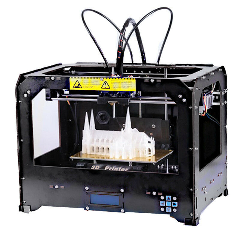 Ctc 3d Printer Makerbot Replicator 2  2 Extruders + 1kg