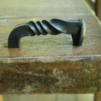 Railroad Spike Cabinet Hardware-Twisted Cabinet Pull ...