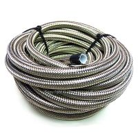 AN-12 AN12 5/8 16MM Stainless Steel Braided PTFE Fuel Hose ...