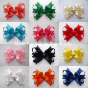 """baby girls handmade large 4"""" party"""