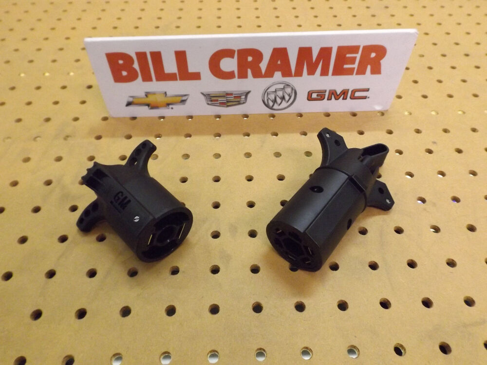 19201995 Trailer Wiring Adapter 7 Pin To 12 Volt And 7 Pin