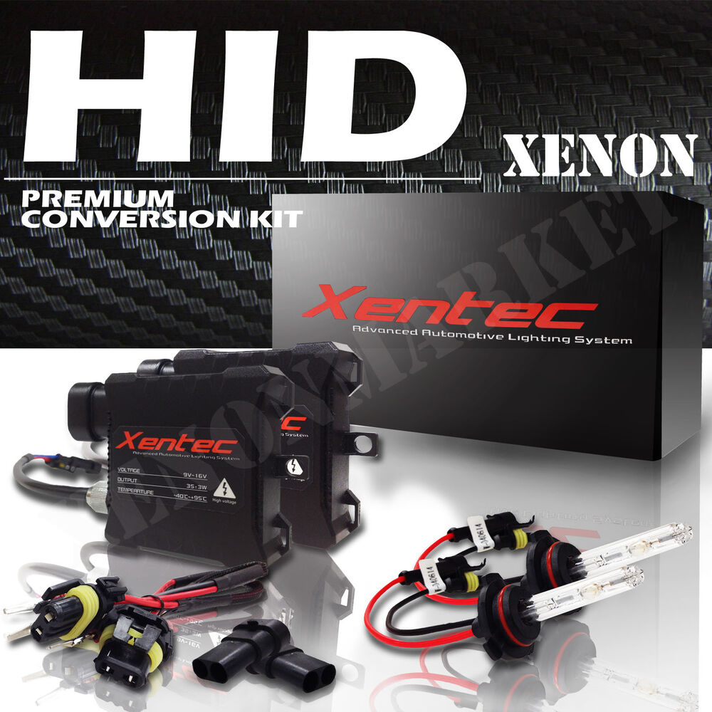 medium resolution of details about bi xenon hi low dual beam hid kit h4 h13 9004 9007 9008