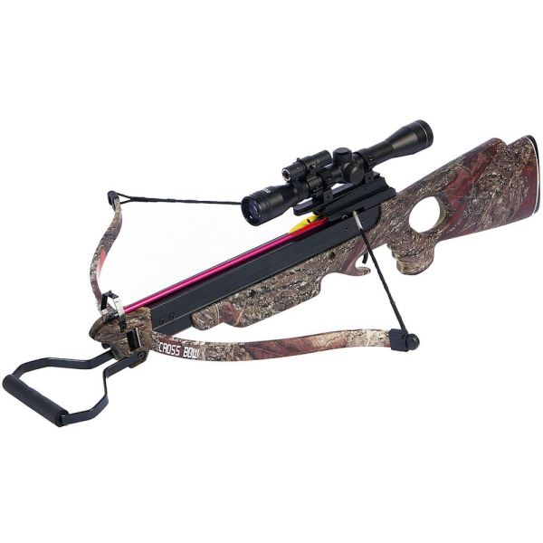 Lb Camouflage Hunting Crossbow Archery Bow 12 Arrows