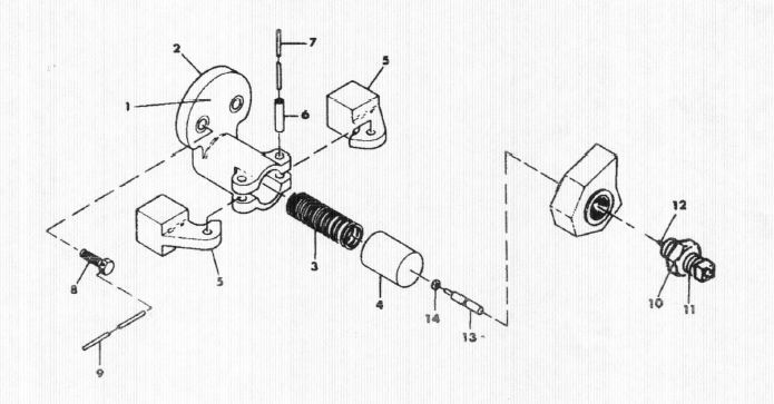 INGERSOLL RAND # W114086T30 CENTRIFUGAL UNLOADER ASSEMBLY