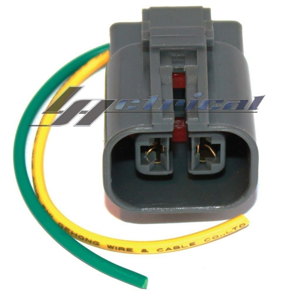 hight resolution of details about alternator repair plug harness 2 wire pin connector fits hyundai tiburon 2 7l 2l