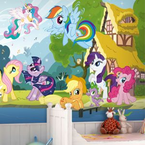 pony wall mural decoration interior murals zoom