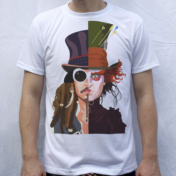 Johnny Depp Willy Wonka Shirt
