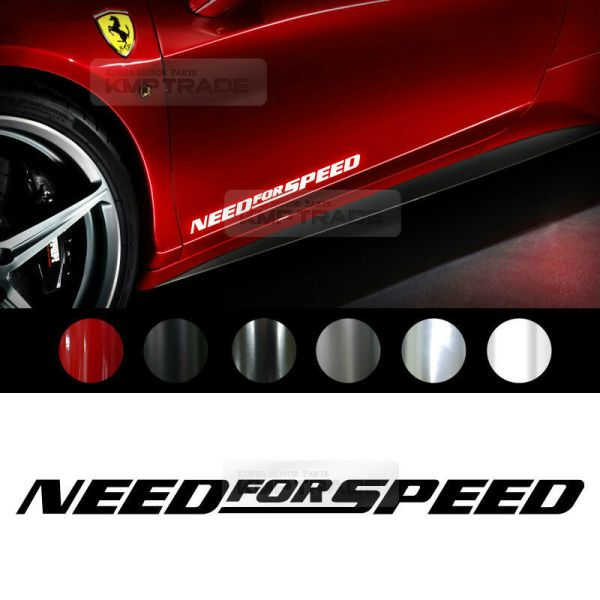 Universal All Vehicle Need For Speed Racing Sports Decal