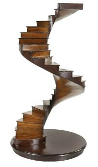 """Spiral Stairs Architectural 3D Wooden Model 15"""" Staircase ..."""