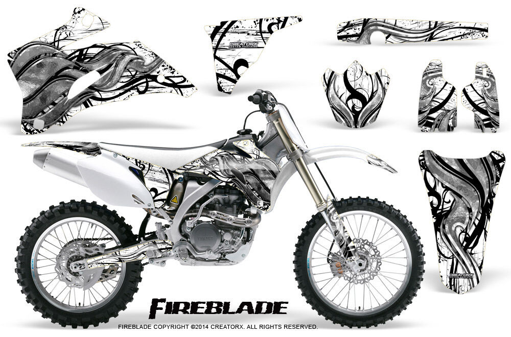 YAMAHA YZ250F YZ450F 06-09 GRAPHICS KIT CREATORX DECALS