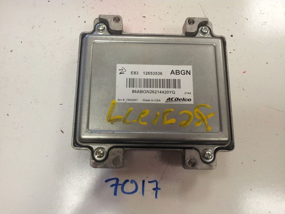 2011 2012 Chevy Cruze 18l Computer Brain Engine Control Ecu Ecm