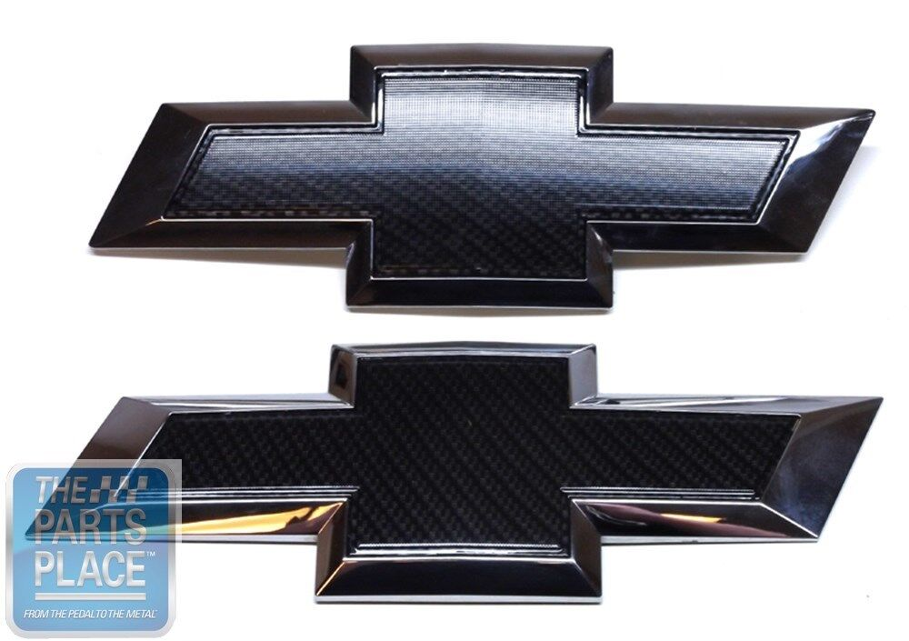 Chrome Chevy Tailgate Emblems