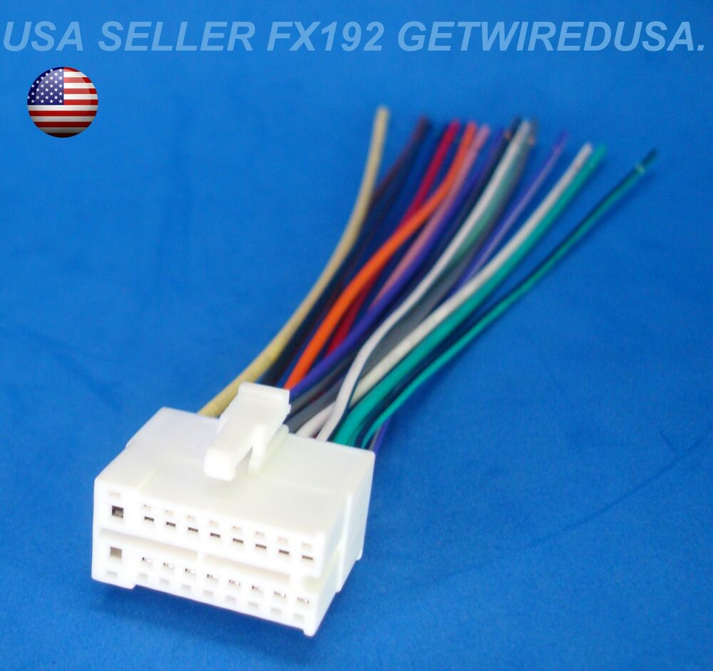hight resolution of 18 pin clarion dvd player wire harness tv radio power plug stereo back clip ebay