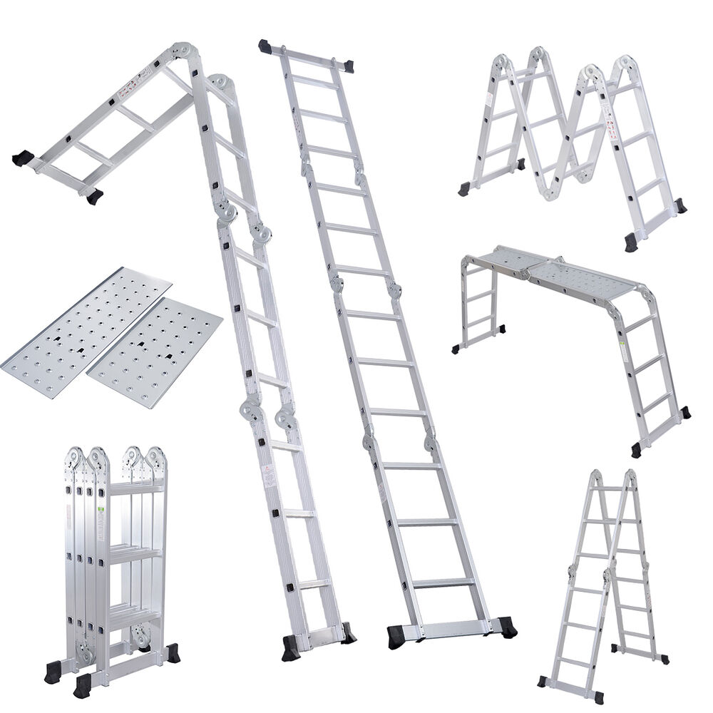 Folding Ladder 125ft En131 Aluminum Folding Step