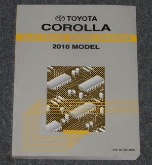 2010 Toyota Corolla Electrical Wiring Diagram Service