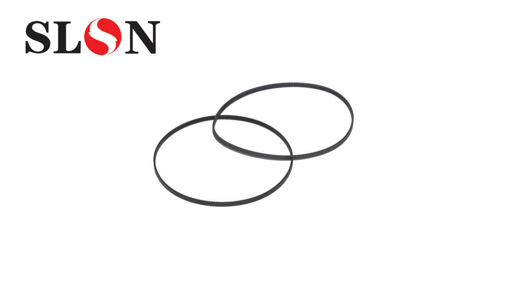 2x Paper Feed Drive Belt For HP Officejet Pro 6500 7000