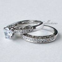 1.75CT VINTAGE FILIGREE BRIDAL WEDDING ENGAGEMENT RING