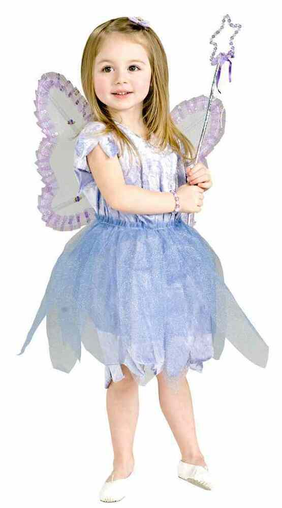 Fairy Princess Pixie Blue Purple Tutu Cute Fancy Dress