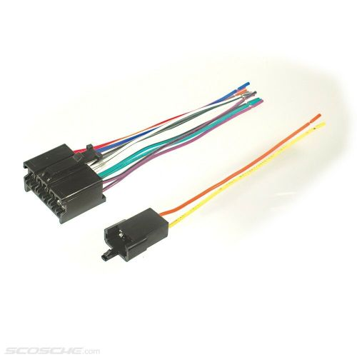 small resolution of 1987 caprice wiring harness wiring libraryplugs into early gm factory radio car stereo wiring harness wire