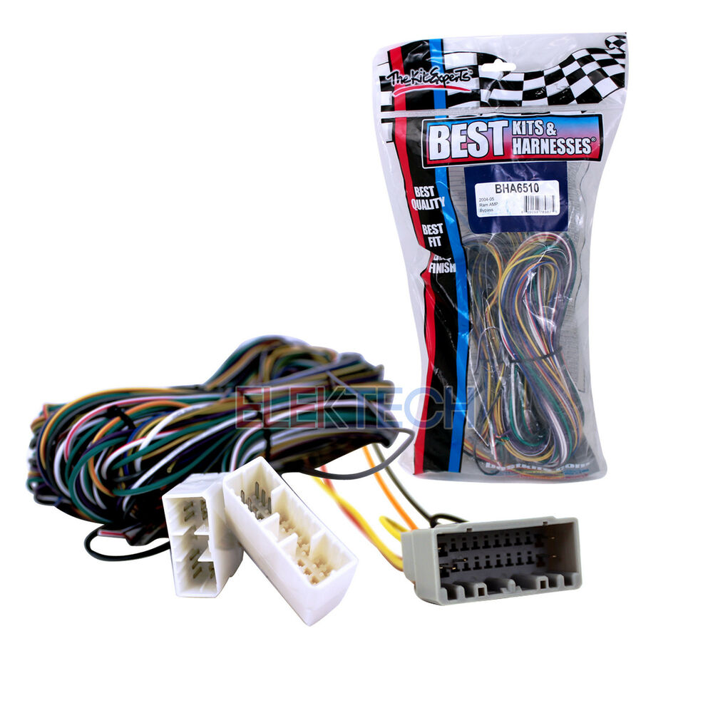 2005 Dodge Ram Stereo Wiring Harness