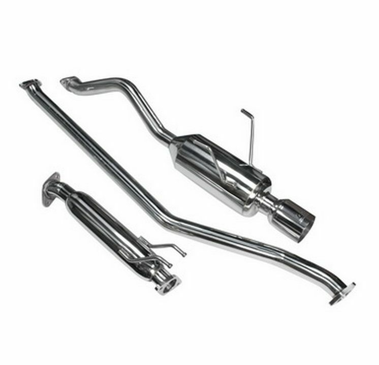 DC Sports for Honda Civic EX Coupe Only 01-05 Cat-Back