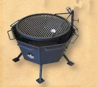 Backyard Fire Pit Outdoor cooking Stainless Steel All