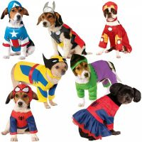 Superhero Dog Costumes Funny Pet Halloween Fancy Dress | eBay
