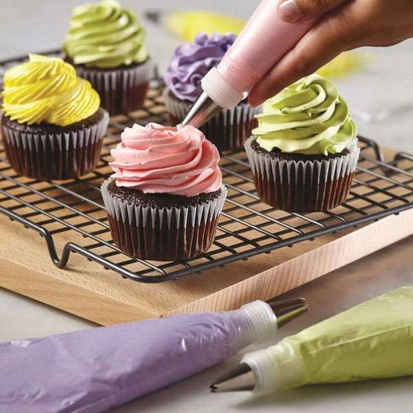 100pcs Bag Disposable Pastry Icing Piping Cake
