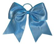 """sparkle dots aqua blue"" cheer"