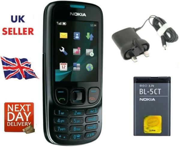 New Condition Nokia 6303i Black Unlocked Camera Bluetooth