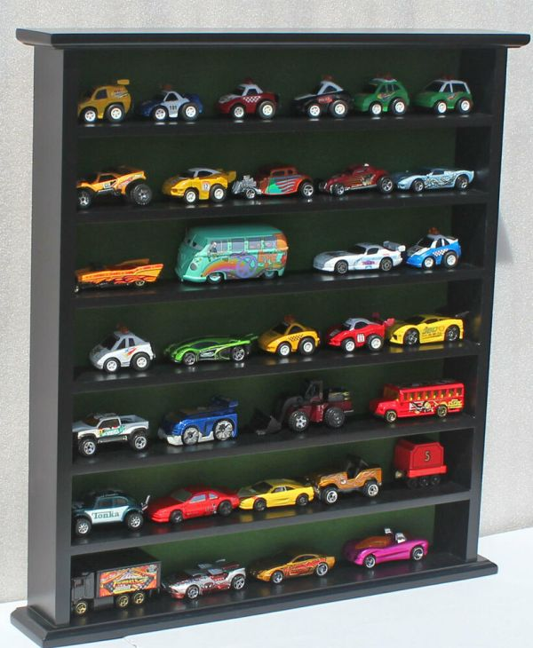 Hot Wheels Matchbox Car Display Stand Case 1 64 Scale