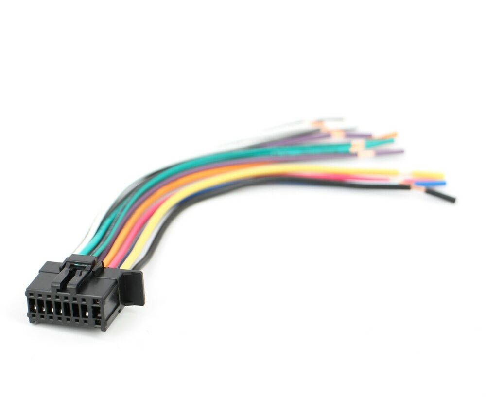 hight resolution of xtenzi 16 pin radio wire harness for pioneer fh x720bt fh x520ui more 702383838187 ebay