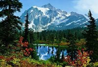Photo Wallpaper Wall Murals - Mountain Morning Nature ...