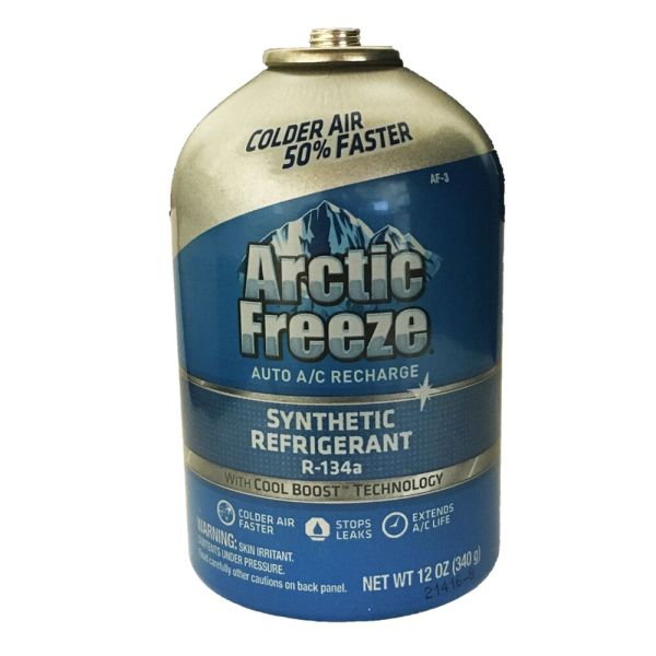 134a Arctic Freeze Refrigerant Oil Leak Sealer Developed Nasa