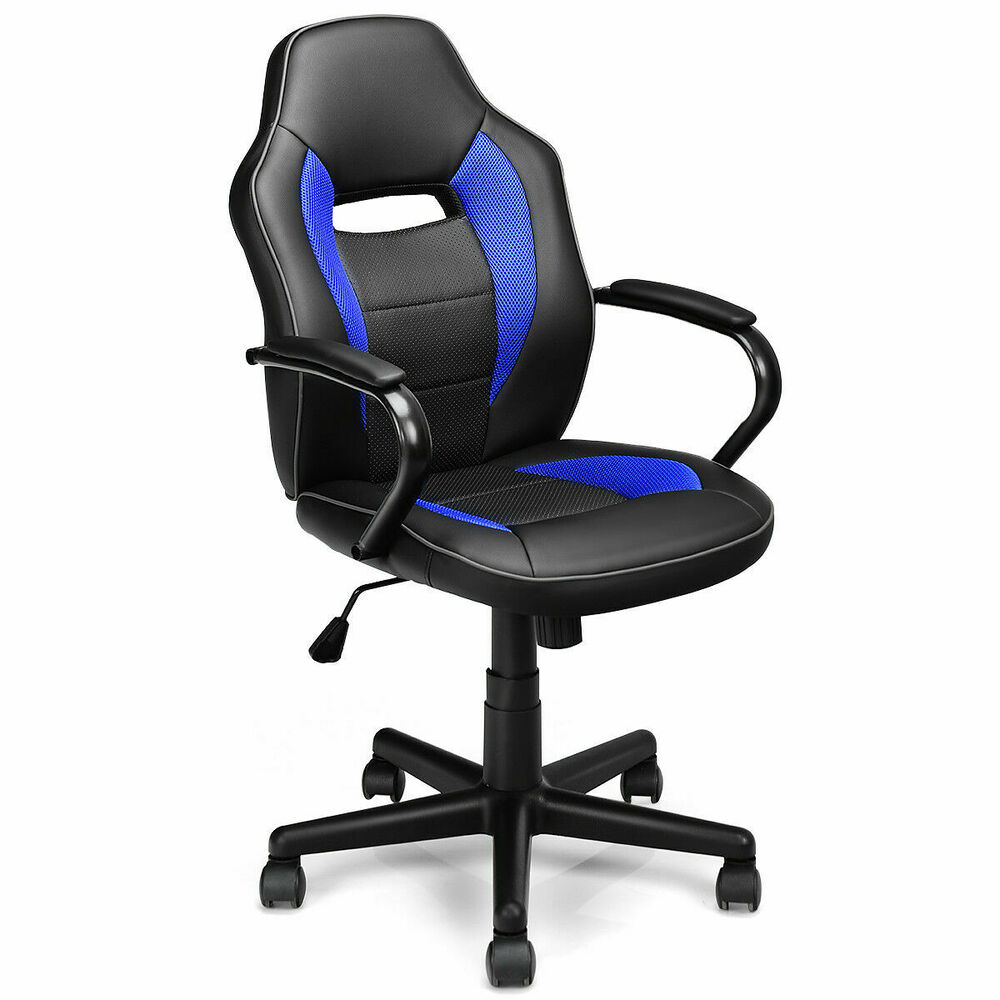 New PU Leather High Back Desk Office Chair Executive