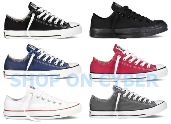 Converse All Star Chuck Taylor Canvas Shoes Low Top All