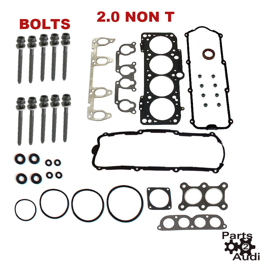 Cylinder Head Gasket Set With Bolts 2.0 VW Golf Jetta