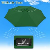 11.5ft 8-Rib Patio Umbrella Cover Canopy Replacement Top ...