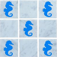 Seahorse, Vinyl, Wall Tile Stickers,Decal ,Transfers For ...