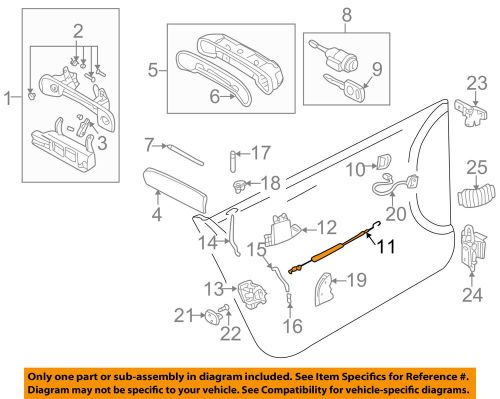 small resolution of details about audi oem 98 04 a6 quattro front door cable left 4b0837085