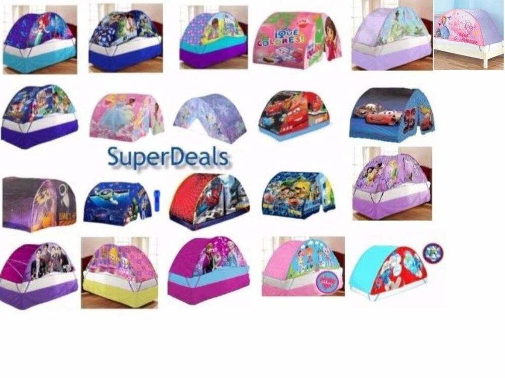 Disney And Nickelodeon Character Kids And Toddlers Bed