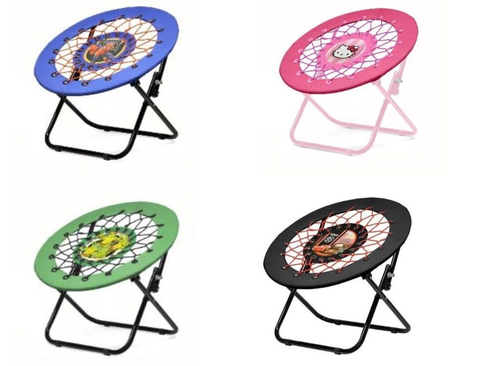 bungee chair for kids high dogs disney and nickelodeon web flex ebay details about