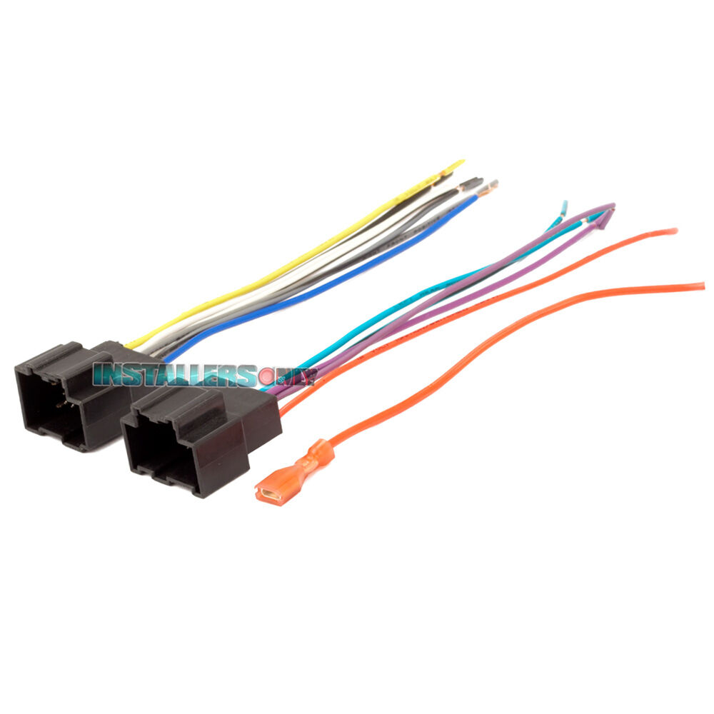 medium resolution of details about aftermarket car stereo radio wiring harness aveo g3 2105 wire adapter plug