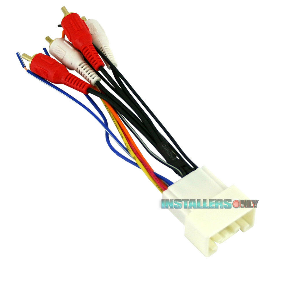 hight resolution of details about aftermarket car stereo radio wiring harness toyota 8113 wire adapter plug