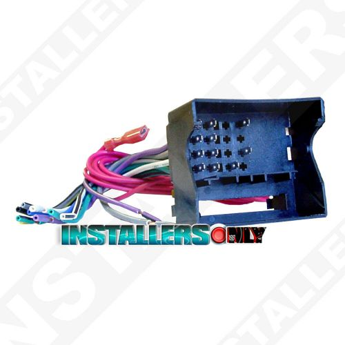 small resolution of details about aftermarket car stereo radio wiring harness bmw 9003 wire adapter plug