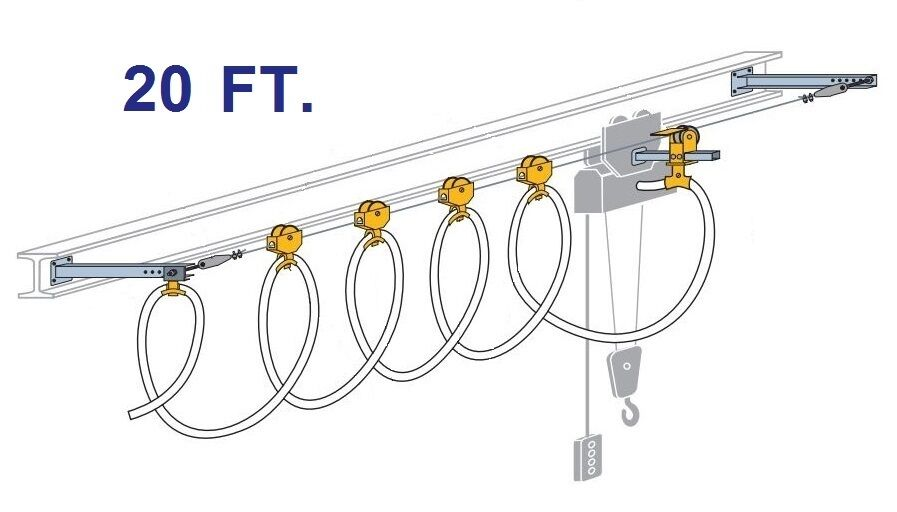 CONDUCTIX ROUND CABLE STRETCH WIRE FESTOON KIT (20 FOOT