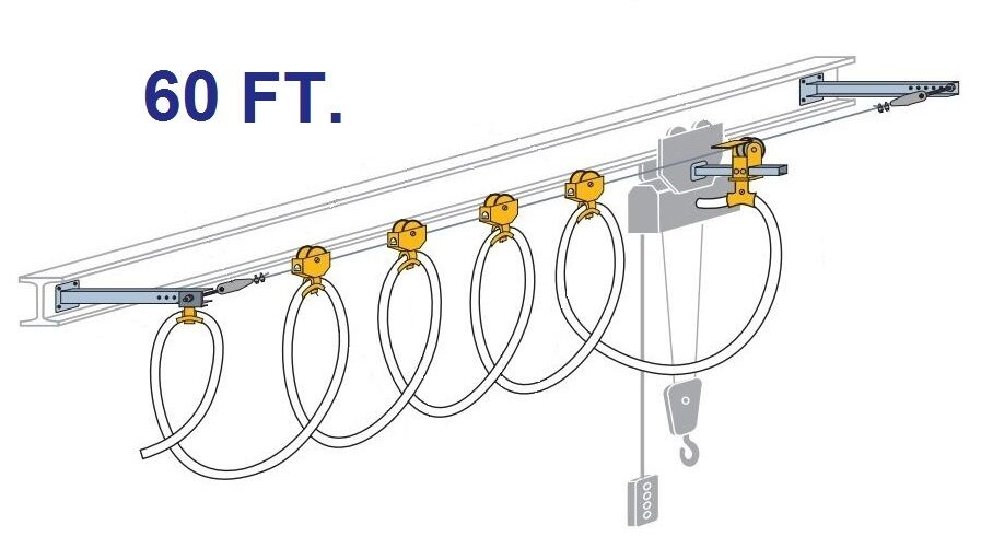 CONDUCTIX ROUND CABLE STRETCH WIRE FESTOON KIT (60 FOOT