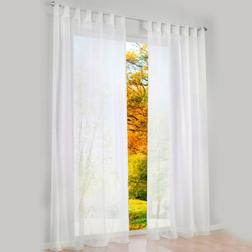 1 PCS Sheer Curtain Blackout Curtains For Bedroom  eBay